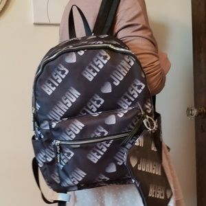 NWT Betsey Johnson Sporty Logo Backpack 😍